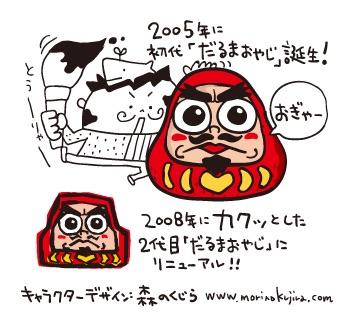 だるま食堂のキャラクター